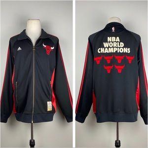 Adidas Chicago Bulls 6x NBA Champions Track Jacket